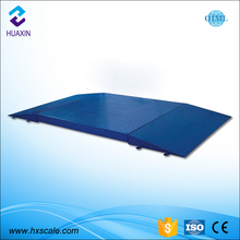 New design 5 ton Digital Floor Scale weighing scale with ramps