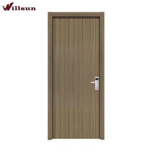 China factory Hotel Interior room Ecological Cheap Aluminum wooden door