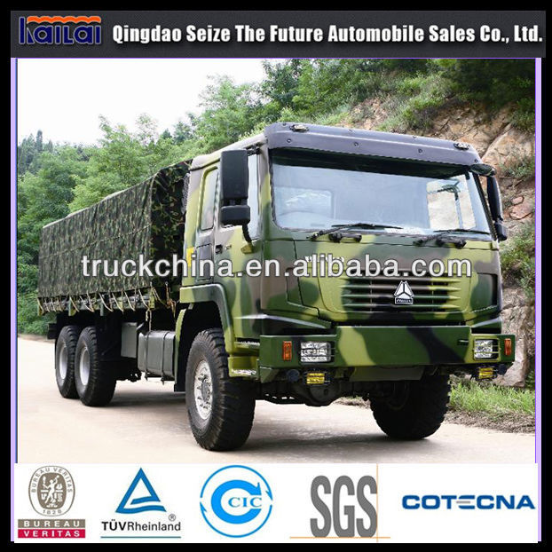 china off road 6x6 truck military vehicles for sale