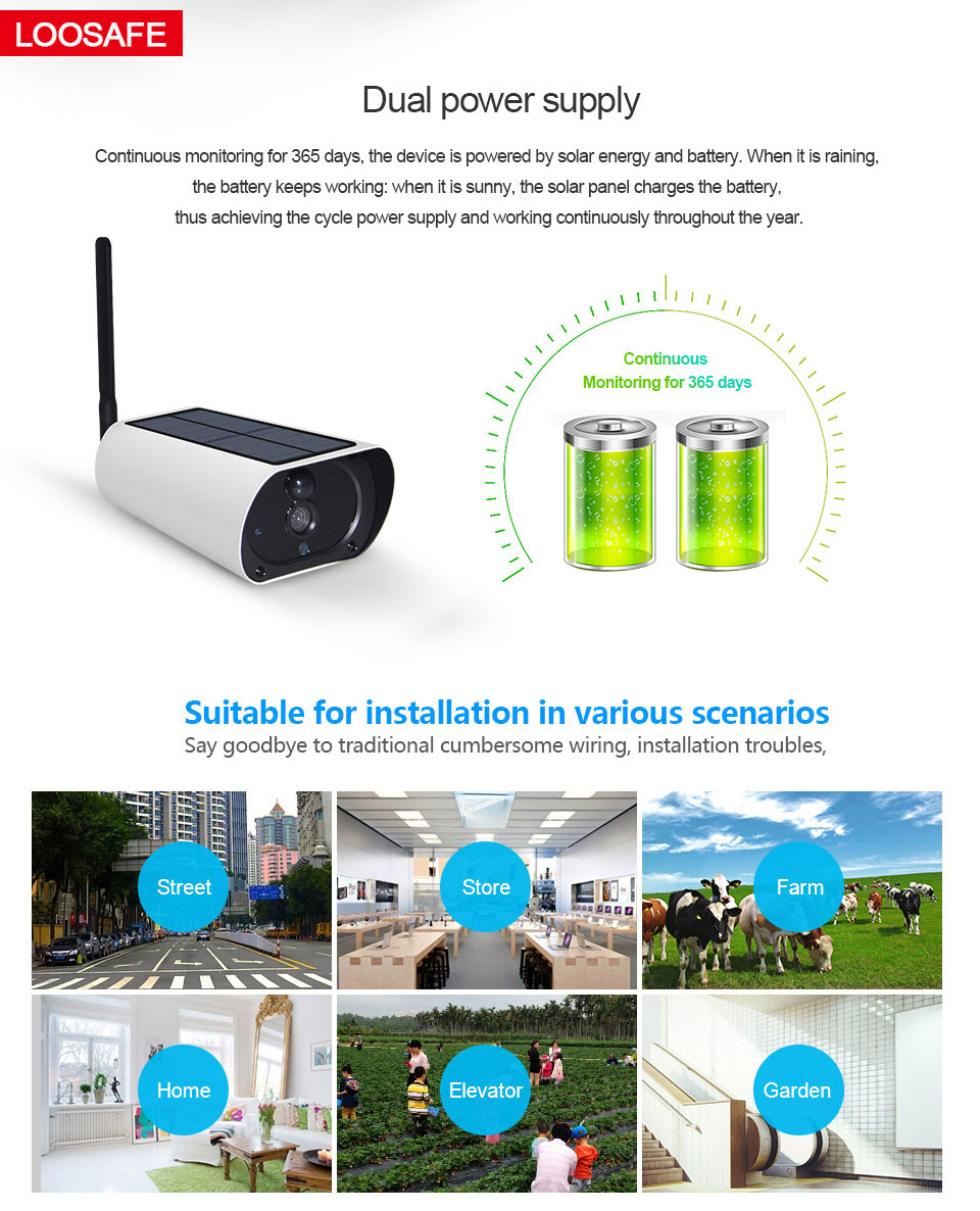 Chile 700mhz 1080P battery power security ip FDD SIM card 4G LTE CCTV solar camera