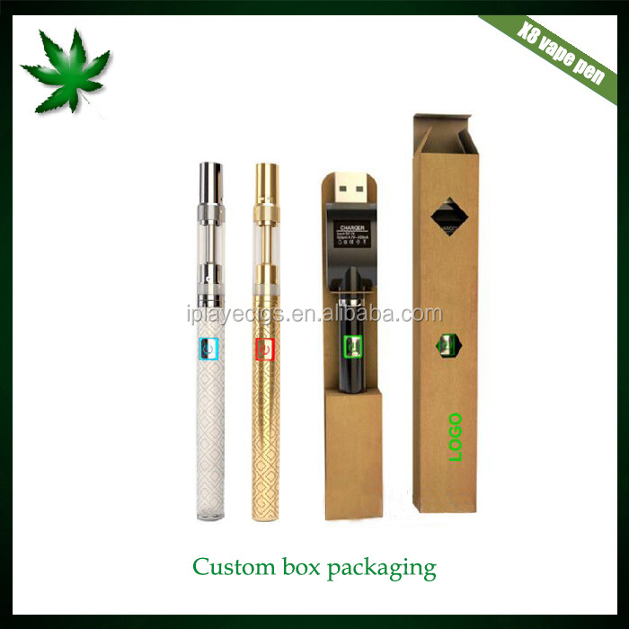 Ceramic Coil Glass Tube CBD Vape .5/1.0 ml Thick Oil Cartridge 510 thread 300mah battery vape pen