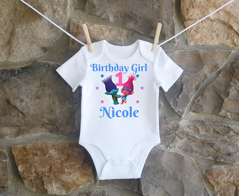 8ad4ec5ebf4e6 Get Quotations · Trolls Birthday Shirt