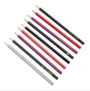Custom Printed Standard wooden Round Promotional Pencils in bulk