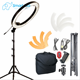 video film shooting camera led ring light