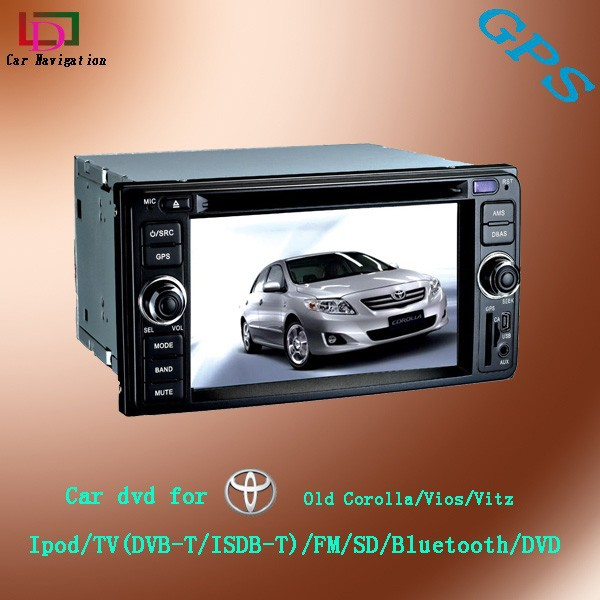 in dash car dvd player toyota corolla