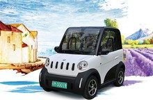 Easy operating cheap 4 wheel electric smart car for sale 2 seater electric mini car
