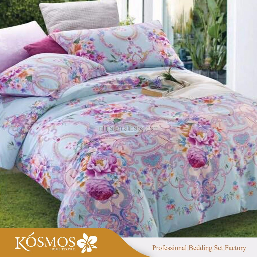 Colorful flower bedding - Cotton Flower Design Bed Sheet Cotton Flower Design Bed Sheet Suppliers And Manufacturers At Alibaba Com