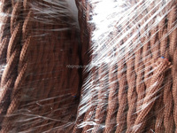 Colorful cotton twisted cord textile twisted cable electric copper wire fabric weaving cable