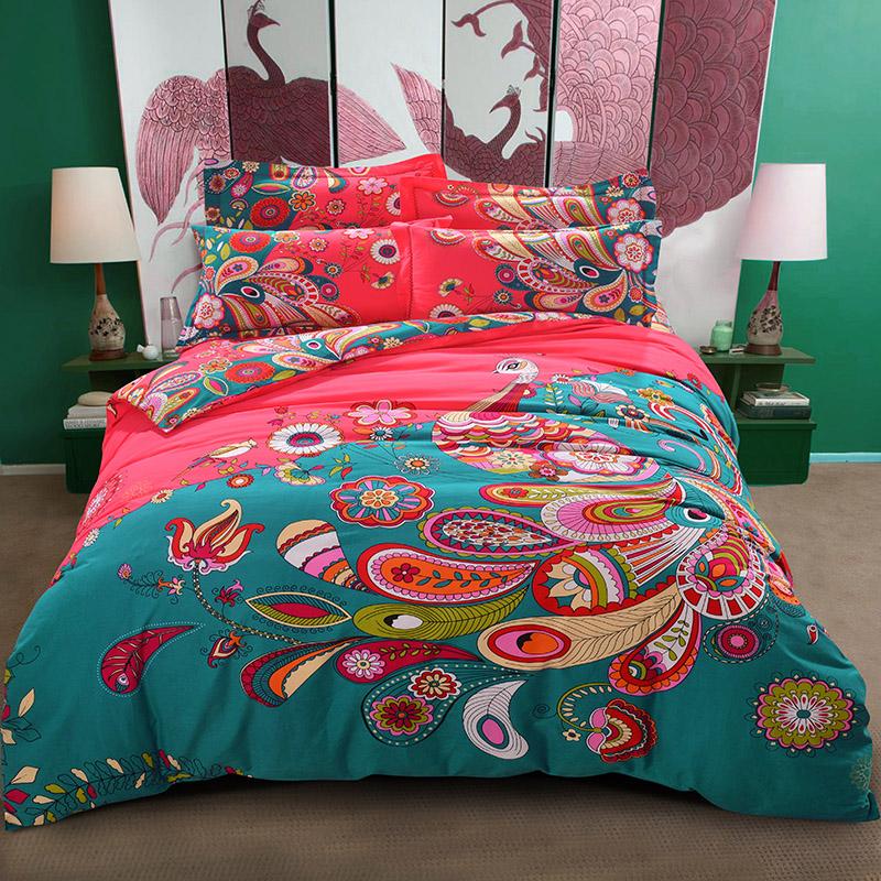 exotique couette ensemble promotion achetez des exotique couette ensemble promotionnels sur. Black Bedroom Furniture Sets. Home Design Ideas