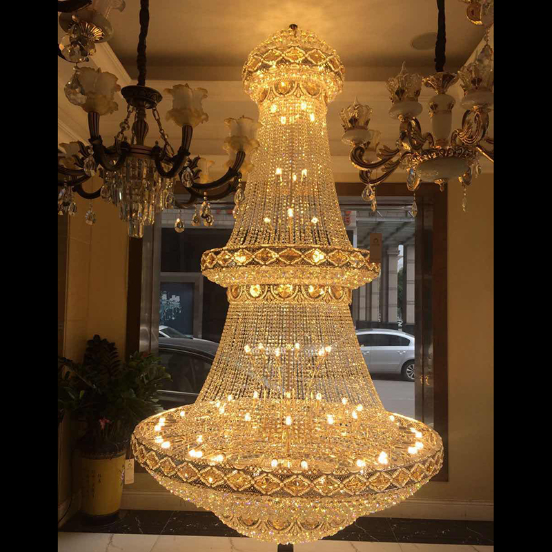 Modern led lustre hotel lounge chandelier large size rectangle modern led lustre hotel lounge chandelier large size rectangle crystal chandelier aloadofball Choice Image