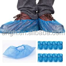 100 DISPOSABLE SHOE COVERS NON-SKID/ MEDICAL/ EXTRA LARGE TO SIZE 13 VALUE PRICE