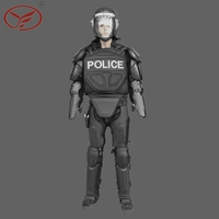 YF Protector Police Self Defense Anti Riot Gear For Riot Control