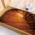 DB009 Weather Proof Stairs PVC Wood Floor Sticker for Home Decoration