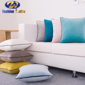 Factory price velvet cushion pillows cover for car