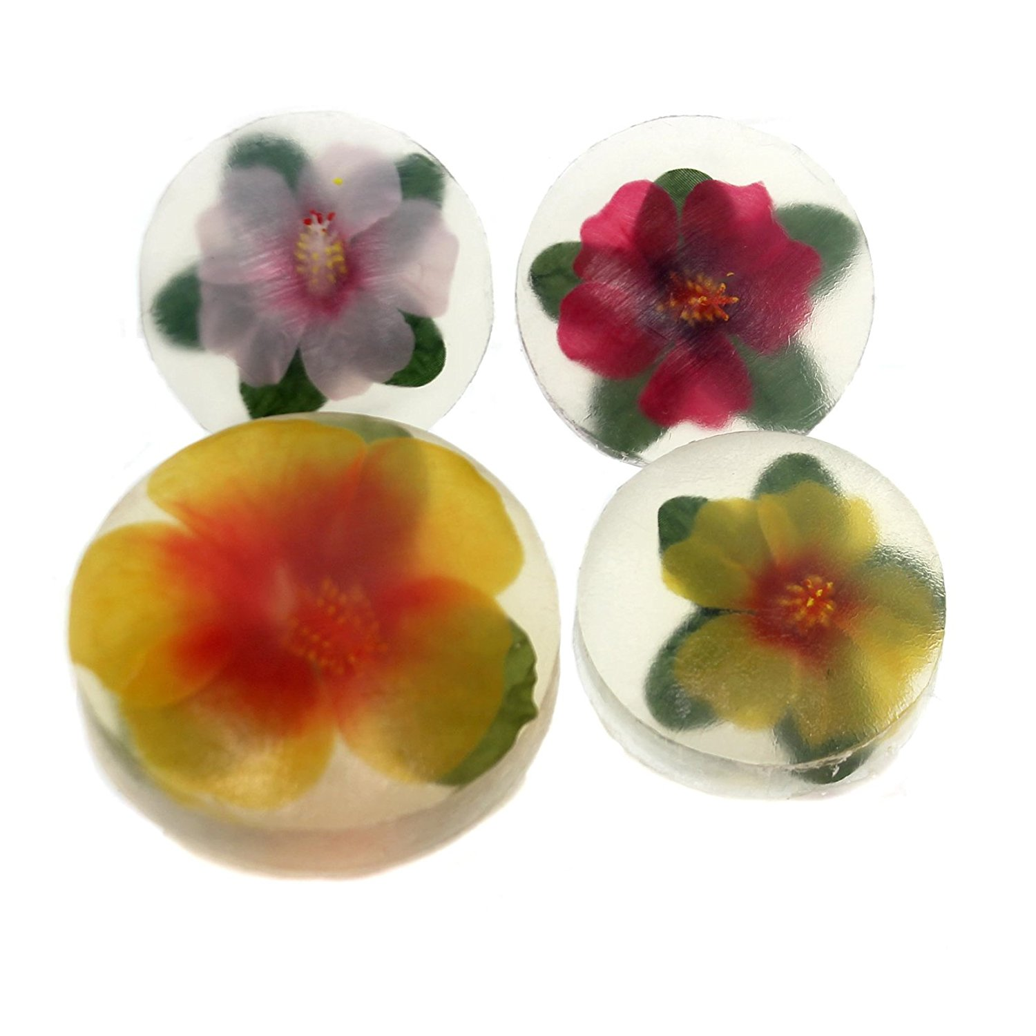 Cheap hibiscus flower clip find hibiscus flower clip deals on line get quotations health and beauty round hibiscus decorative soaps 4 pc gift set flower 50285116 izmirmasajfo Choice Image
