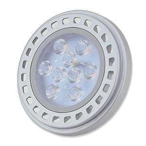LEDwholesalers Dimmable GU10 Base AR111 15W 30° Beam Angle LED Bulb, Warm White, 1508WW