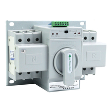 380V 3 SINGLE ATS PHASE ELECTRICAL GENERATOR MANUAL AUTOMATIC CHANGEOVER SWITCH MCB