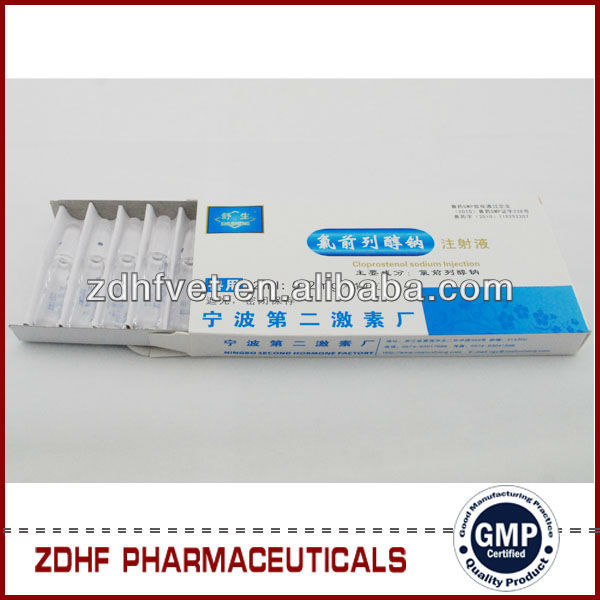Insulin Injection Site Reaction: Cattle Hormones Cloprostenol Sodium Injection (pgcl)