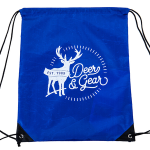 custom drawstring beach lunch party pouch dust bag
