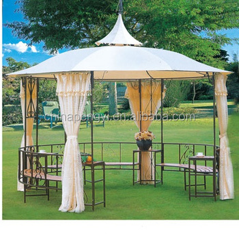 Modern Large Portable Outdoor Patio Gazebo Tents Garden Metal Frame Gazebo