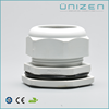 Unizen Free samples waterproof connector strain relief gray black nylon Watertight cable gland with certificate