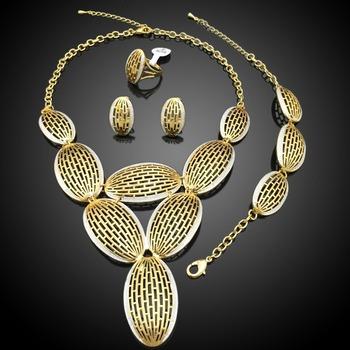Dubai Gold Jewelry SetArabic Bridal Jewelry SetsDubai 18 Carat