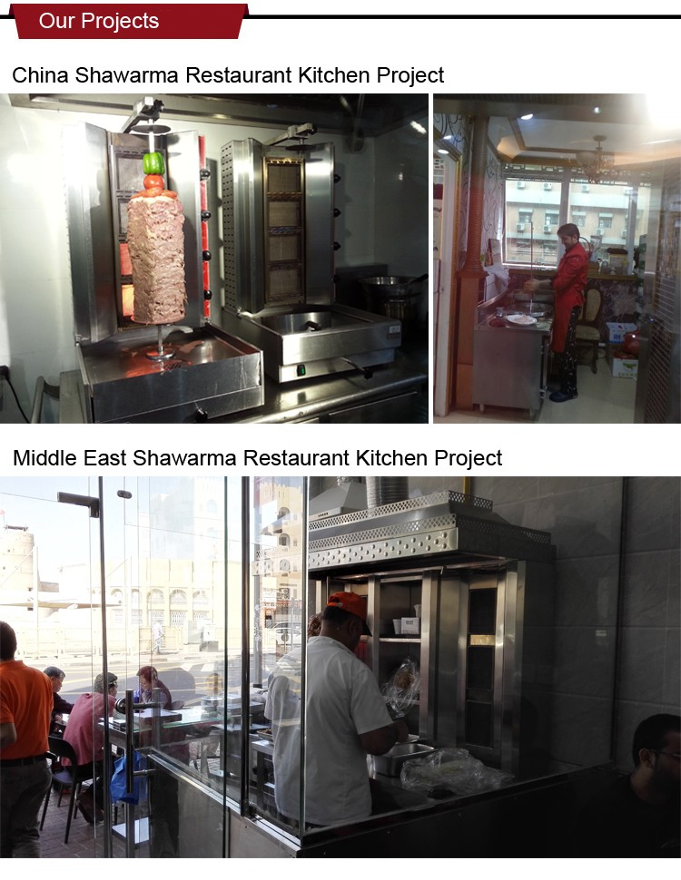 Shinelong Shawarma Kebab Restaurant/Shop Solution