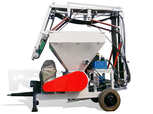 移动式粉碎机 拖拉机带秸秆粉碎机