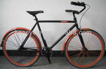 700C fixede gear single speed adult cr-mo or aluminum frame bicycle road bike SY-RB70083