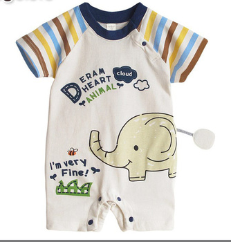Wholesale Baby Clothes European Style Newborn Anime Baby Romper From