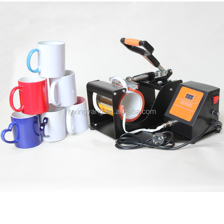 Best seller 3d sublimation transfer printing magic mug heat press machine
