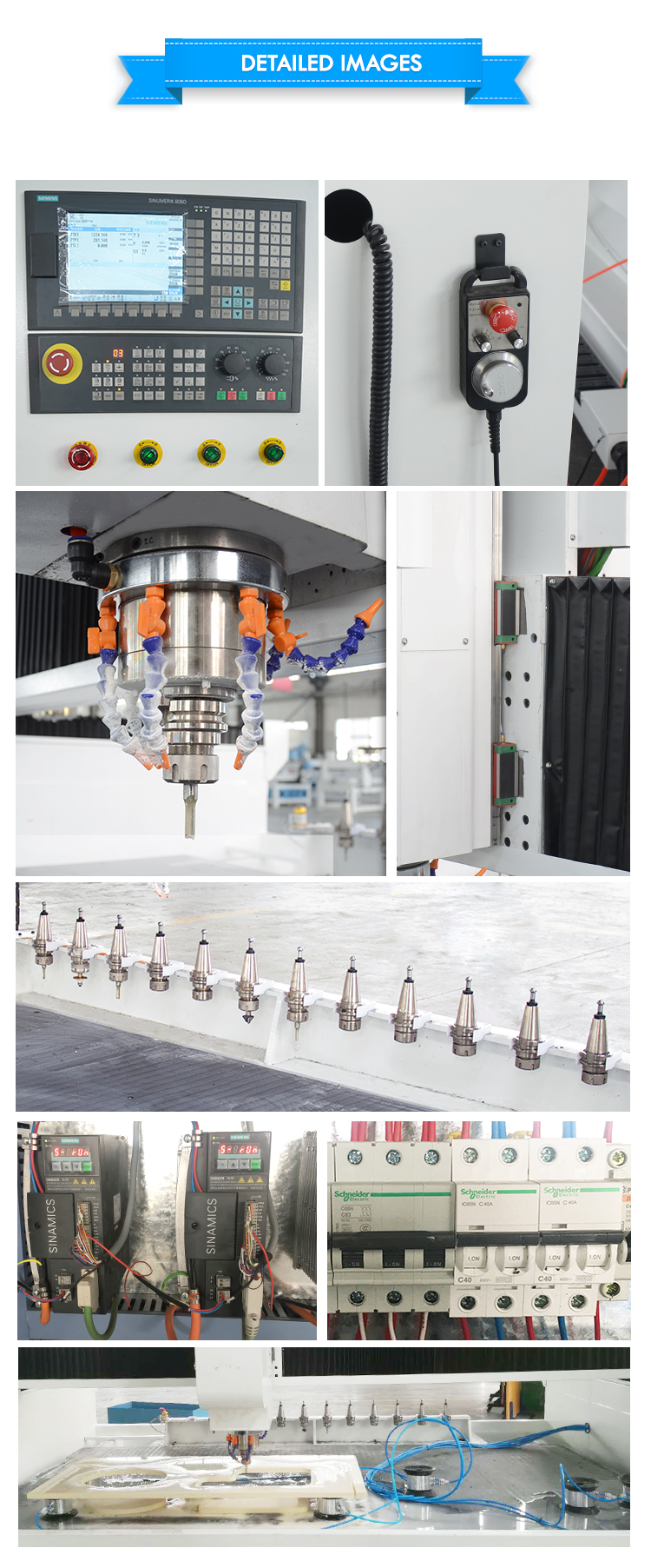 चीन संगमरमर पत्थर काटने की मशीन 3d पत्थर सीएनसी नक्काशी मशीन ग्रेनाइट सिंक छेद काटने की मशीन