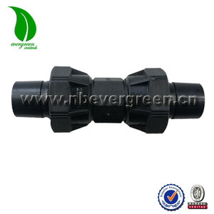 high quality pp quick coupler fitting for HDPE LDPE PIPE