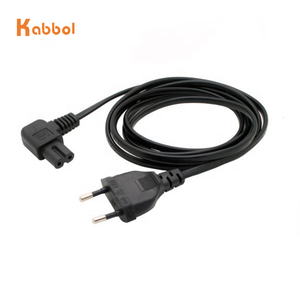 16A 250V EU Plug Power Cable european power extension cord for laptop and LED