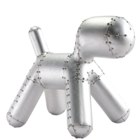 Rivets Aviation Aluminium Furniture Decor Dog Chair For Creative Decoration Leisure Area