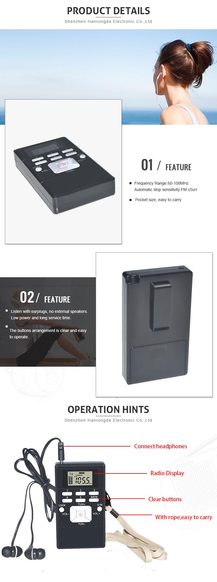 Shopping Cheap Digital World Small Fm Receiver Radio Buy For Battery Supply Hrd 102black 03
