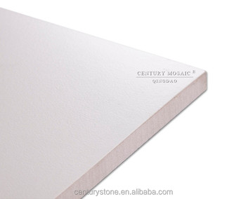 600mm Square White Porcelain Floor And