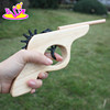 Classic shooting game wooden toy gun for kids W02A099