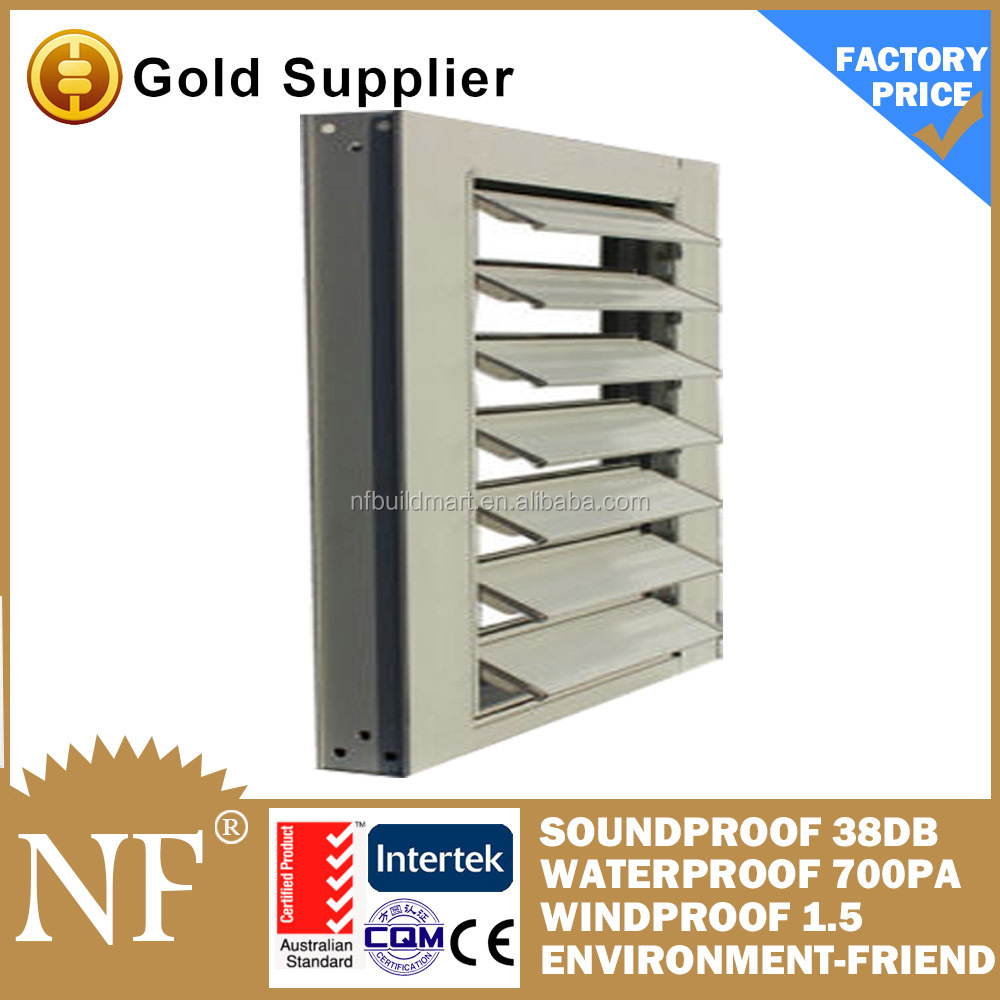 aluminum window louver design