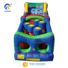 High quality outdoor inflatable obstacle course for activities, inflatable water obstacle course for sale
