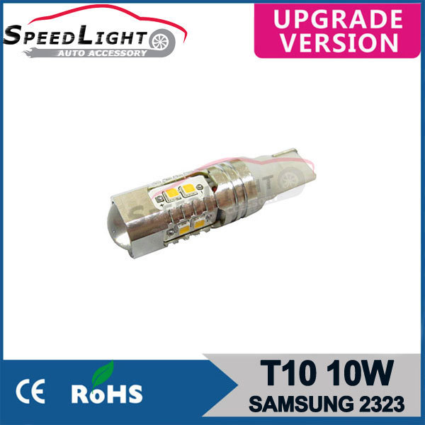 SpeedLight High Brightness 9-30V 10W 15W 20W 30W 50W T10 10W Samsung 2323 LED Car Lamps