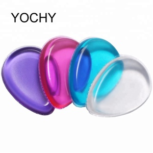 2018 New Style Silicone Material Cosmetic Puff Silicone Makeup Sponge Cosmetic Tool Beauty Sponge Foundation Sponge