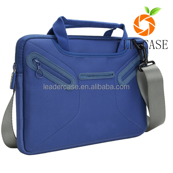 China Manufactory Neoprene Laptop Sleeve Waterproof Computer Bags with handle