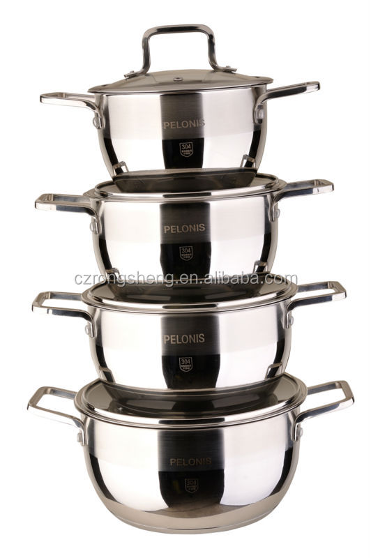 Amc Cookware Price Stainless Steel 304 Induction Cooking