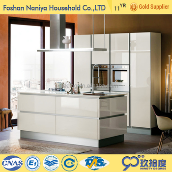 Fair Price Pearl White Kitchen Cabinet With Transparent Glass Kitchen  Cabinet Doors - Buy Pearl White Kitchen Cabinet,Kitchen Cabinets ...