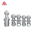 High Quality Stainless Steel Chromed Plated Towing Parts Long Shank Trailer Hitch Balls