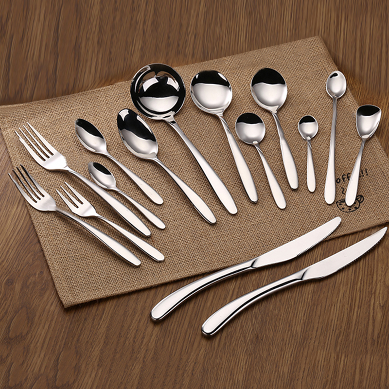 Whole sale silver plated cutlery/silver coated plastic cutlery/gold plated cutlery