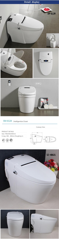 Professional Design Fine Quality Automatic Korean Smart Toilet Buy