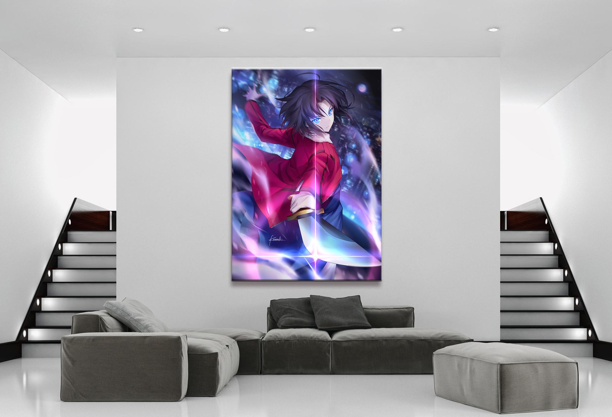 home decor canvas 1 anime kara no kyoukai