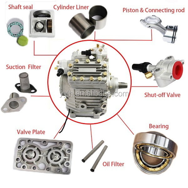 Trustworthy China Supplier Bock Compressor Fk40 655k V Type Open ...